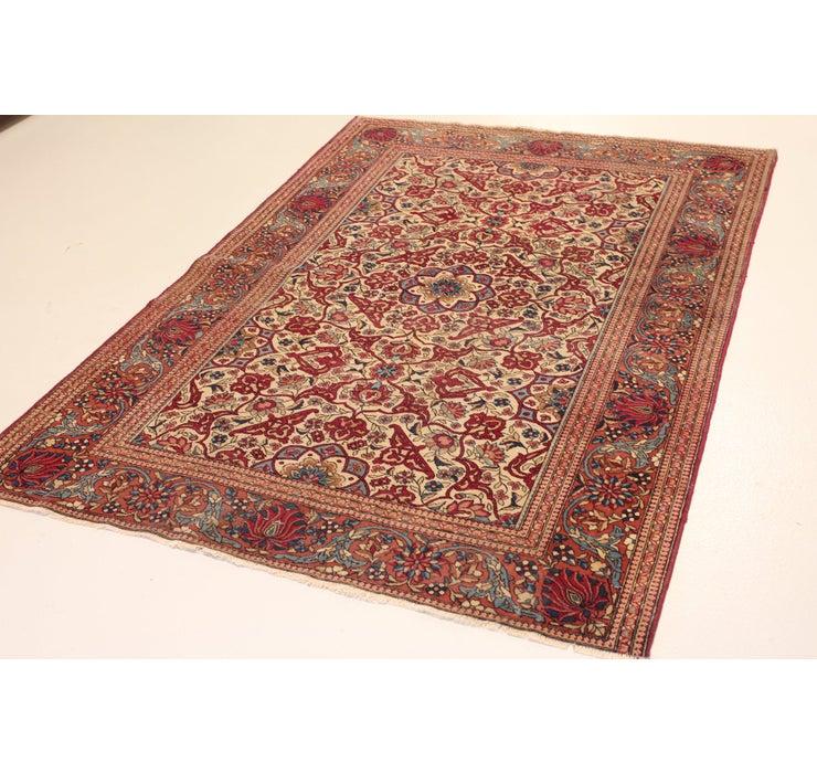 4' 7 x 6' 11 Sarough Persian Rug