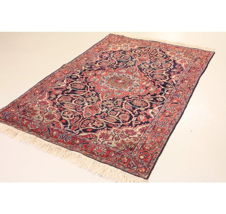 4' 3 x 6' 7 Kashan Persian Rug