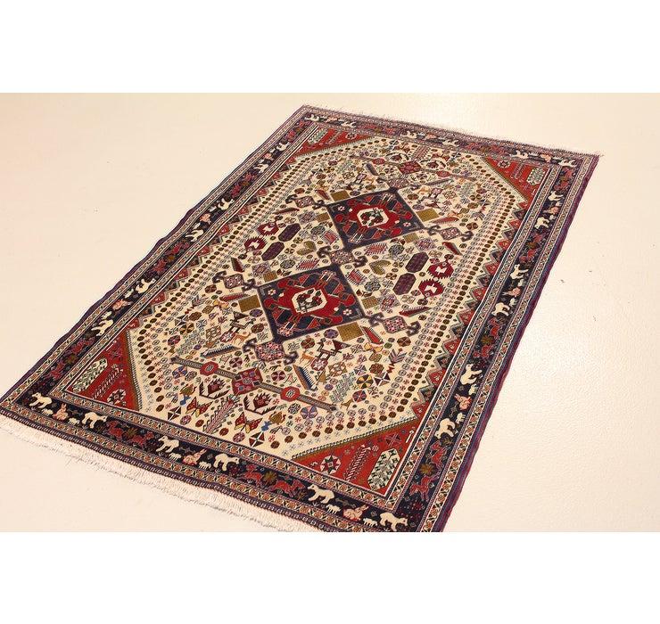 130cm x 160cm Yalameh Persian Rug
