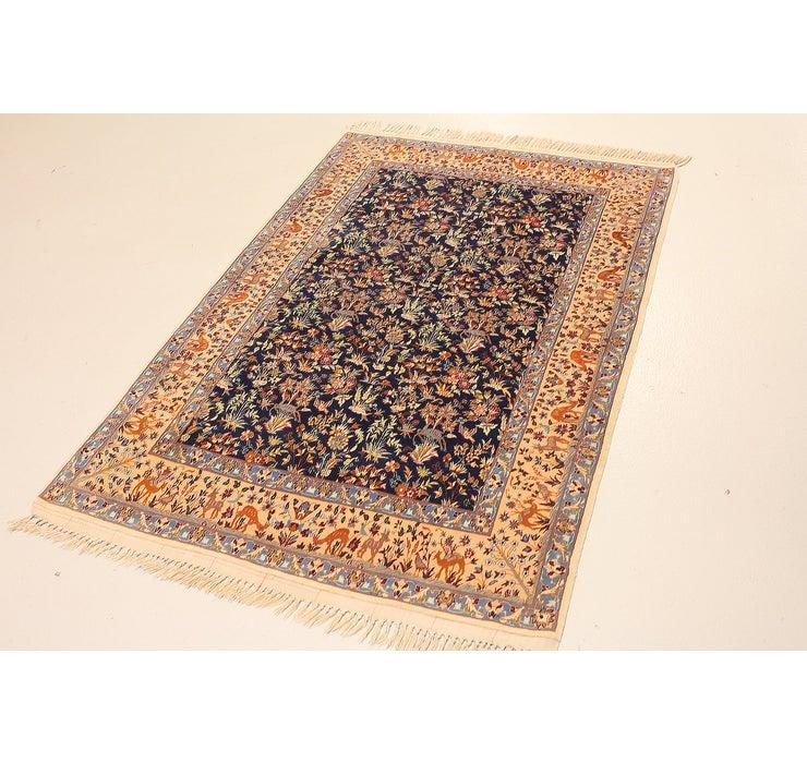 3' 6 x 5' 5 Isfahan Persian Rug