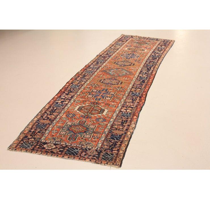 95cm x 315cm Gharajeh Persian Rug