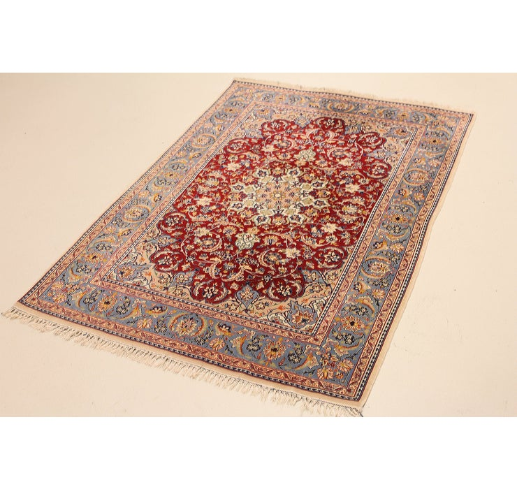 3' 5 x 5' 2 Isfahan Persian Rug