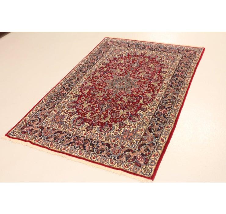 3' 7 x 5' 8 Isfahan Persian Rug