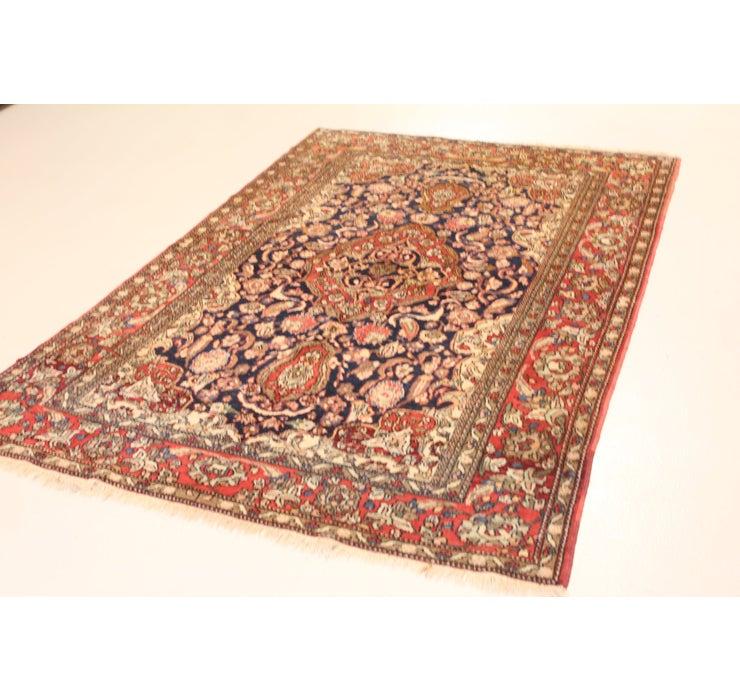 4' 6 x 6' 11 Tabriz Persian Rug