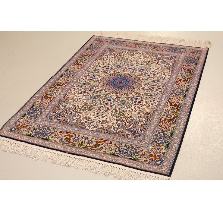 3' 5 x 5' 1 Isfahan Persian Rug