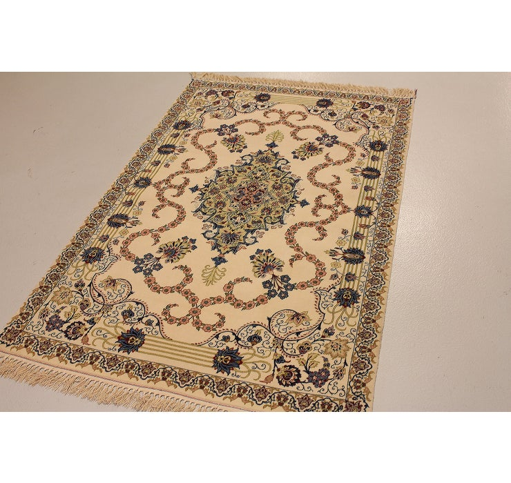 3' 6 x 5' 8 Isfahan Persian Rug