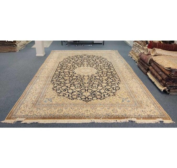 8' 11 x 13' 9 Nain Persian Rug