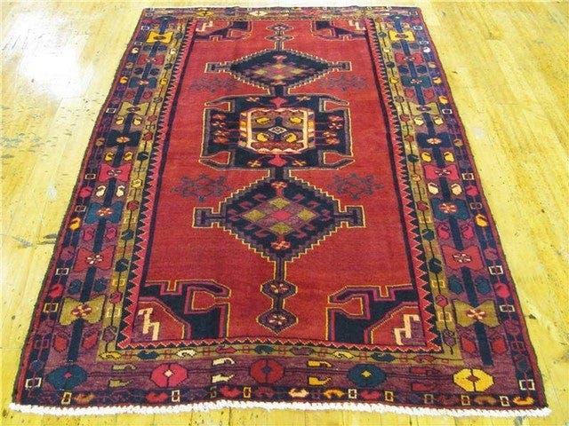 4' 5 x 6' 7 Hamedan Persian Rug main image