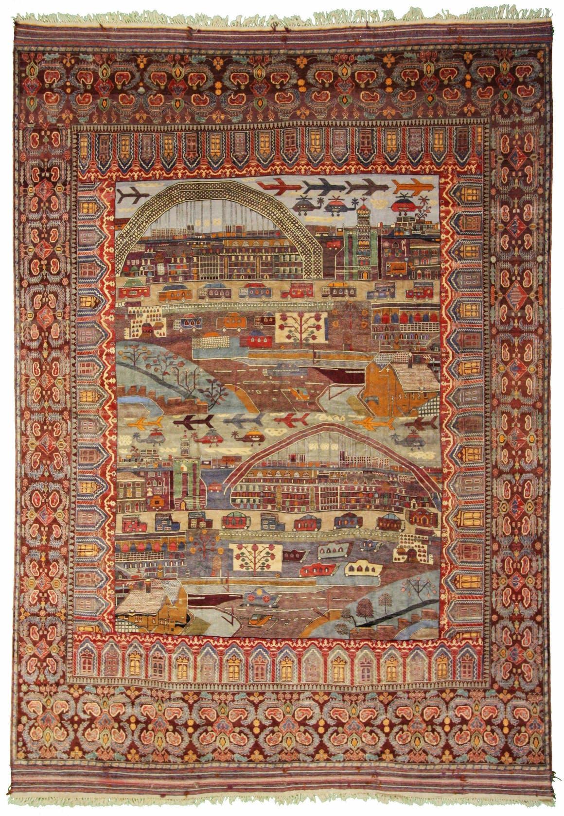 12' 10 x 18' 6 Afghan Oriental Rug main image
