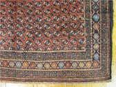 3' 11 x 9' 1 Balouch Persian Runner Rug thumbnail