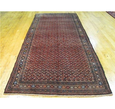 3' 11 x 9' 1 Balouch Persian Runner Rug main image