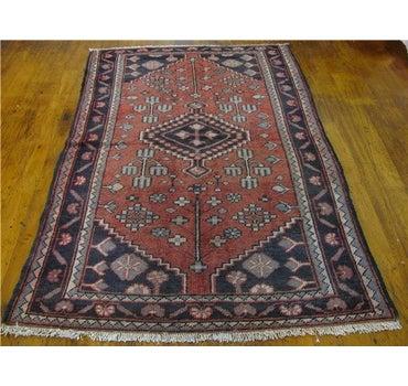 3' 11 x 6' 1 Shiraz Persian Rug main image