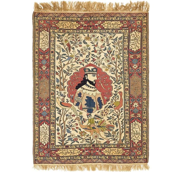142cm x 198cm Sirjan Persian Rug