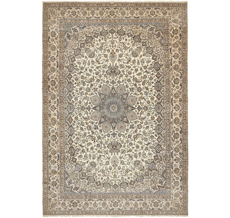 400cm x 595cm Nain Persian Rug