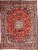 9' 8 x 12' 10 Mashad Persian Rug thumbnail