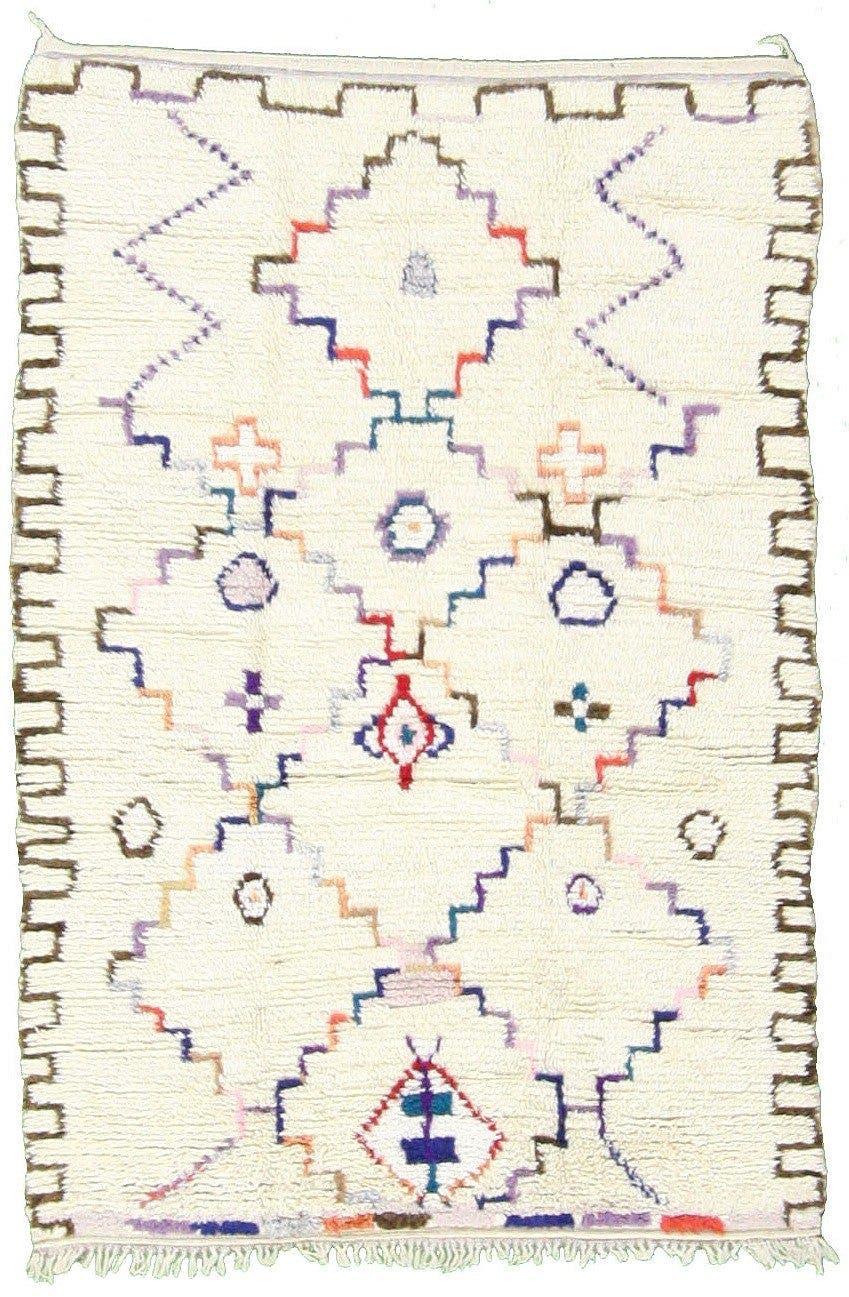 4' 10 x 7' 1 Moroccan Rug main image