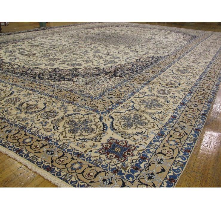 772cm x 1195cm Nain Persian Rug