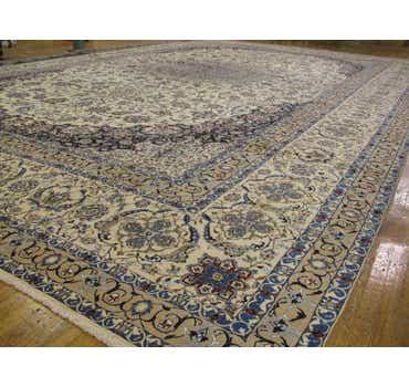 25' 4 x 39' 2 Nain Persian Rug