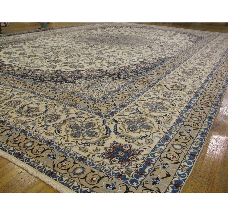 Image of 772cm x 1195cm Nain Persian Rug