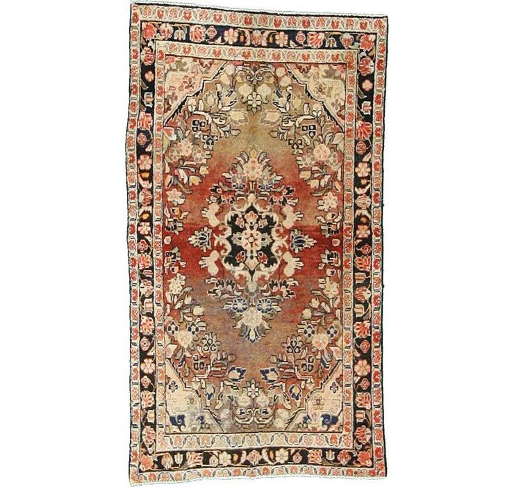 3' 9 x 6' 10 Hamedan Persian Rug