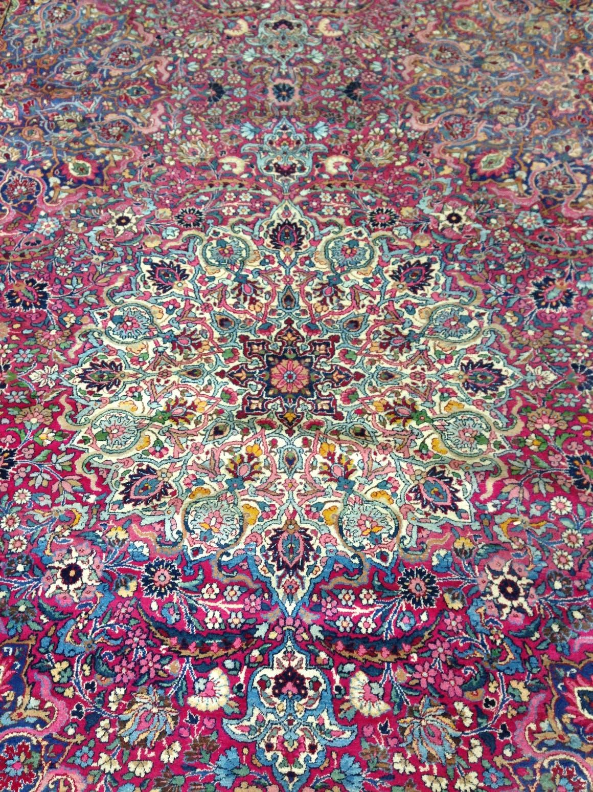 Pink 15 4 X 25 6 Kerman Persian Rug