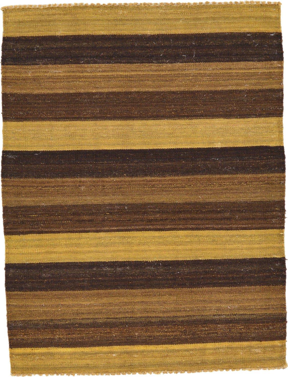 3' x 3' 11 Striped Modern Kilim Rug main image