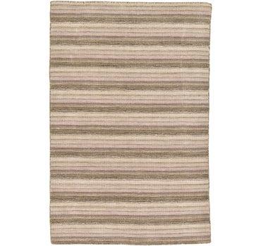 4' x 6' 1 Loribaft Gabbeh Oriental Rug main image