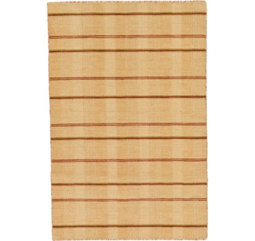 3' 10 x 5' 10 Loribaft Gabbeh Oriental Rug main image