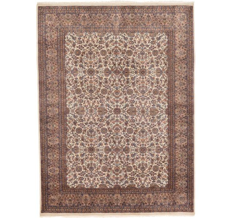 8' 3 x 11' 3 Kashan Oriental Rug