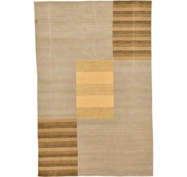 5' 8 x 8' 6 Loribaft Gabbeh Oriental Rug main image