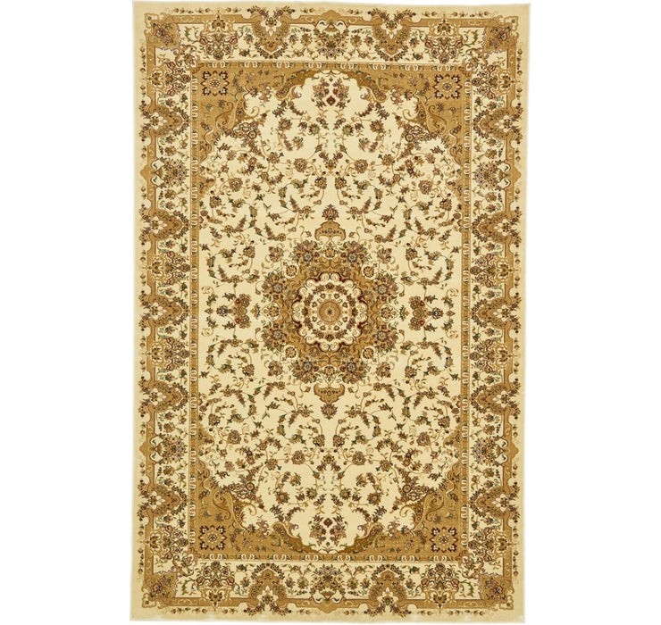 6' 4 x 9' 10 Tabriz Design Rug