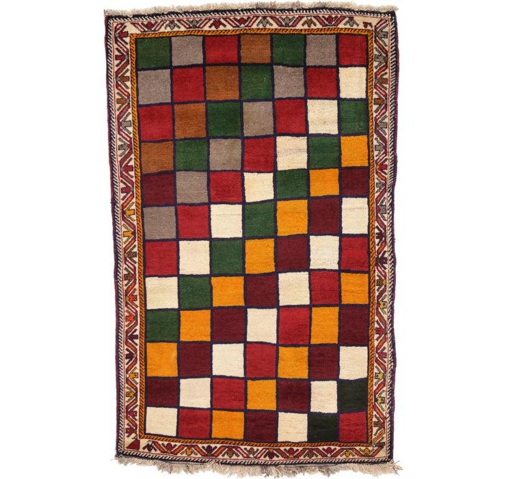 120cm x 190cm Ghashghaei Persian Rug