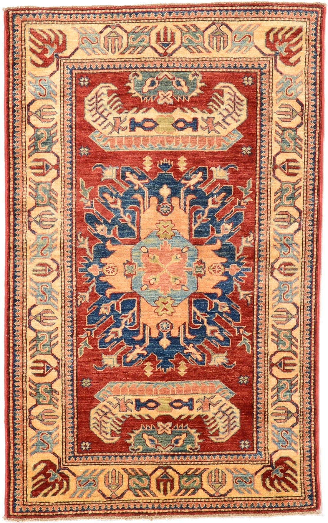 3' 4 x 5' 3 Kazak Oriental Rug main image