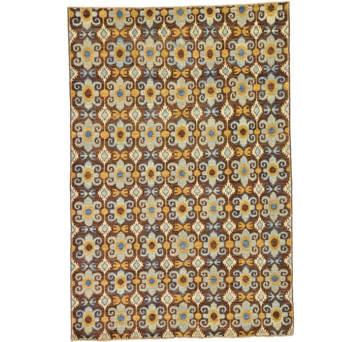 6' x 8' 11 Ikat Oriental Rug