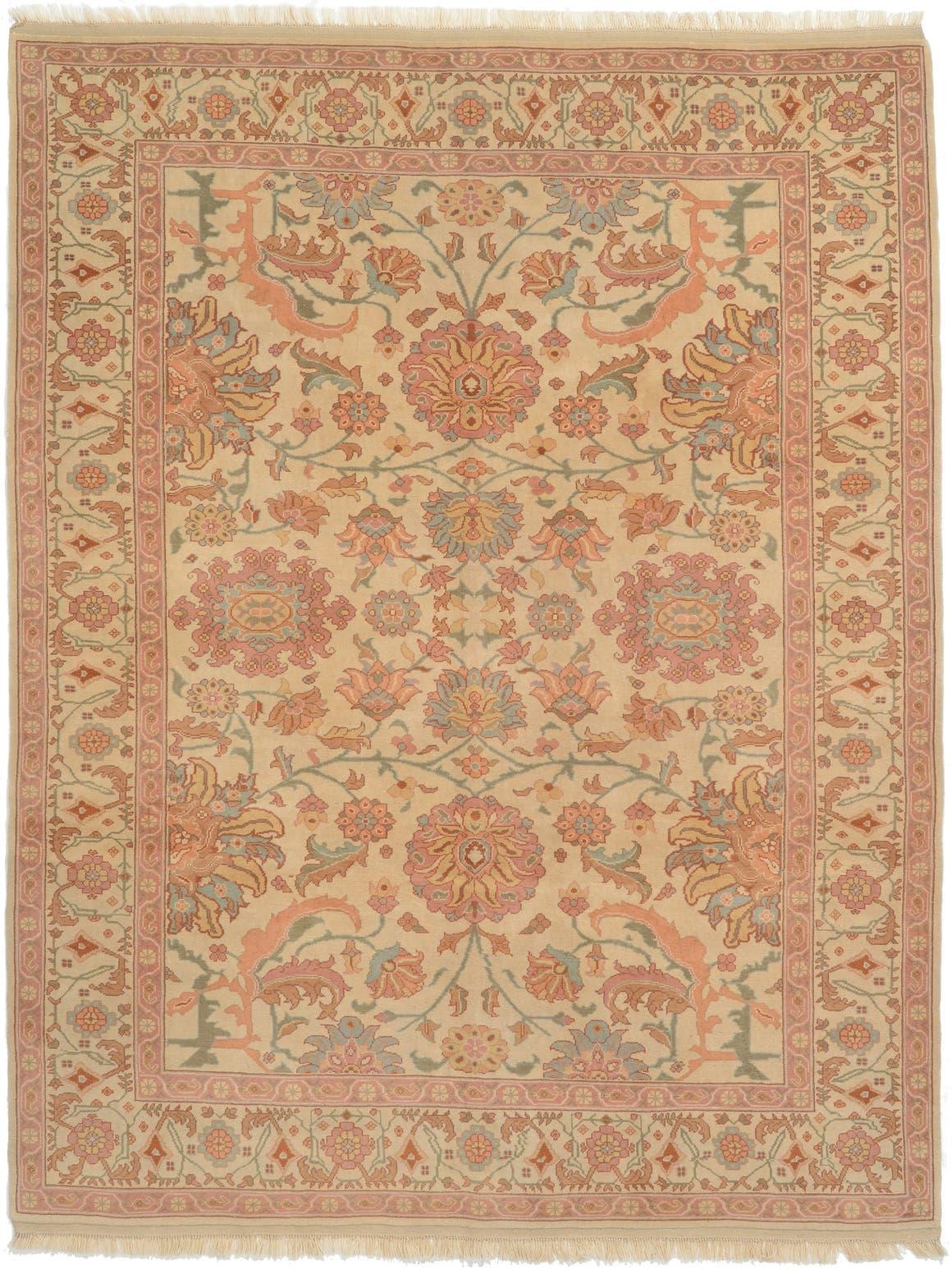 Beige 8 X 10 4 Jaipur Agra Rug