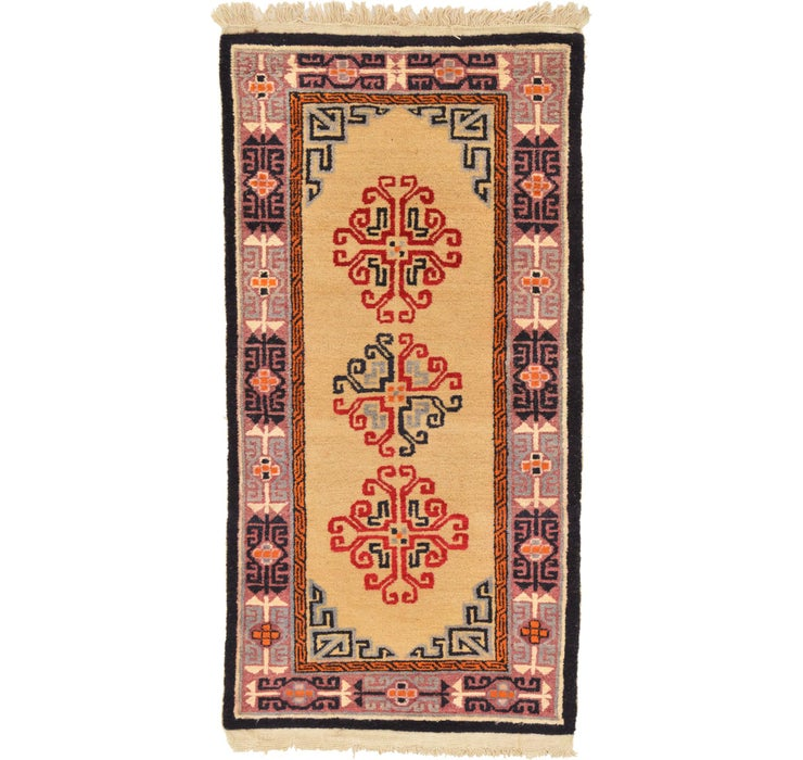 85cm x 175cm Antique Finish Runner Rug