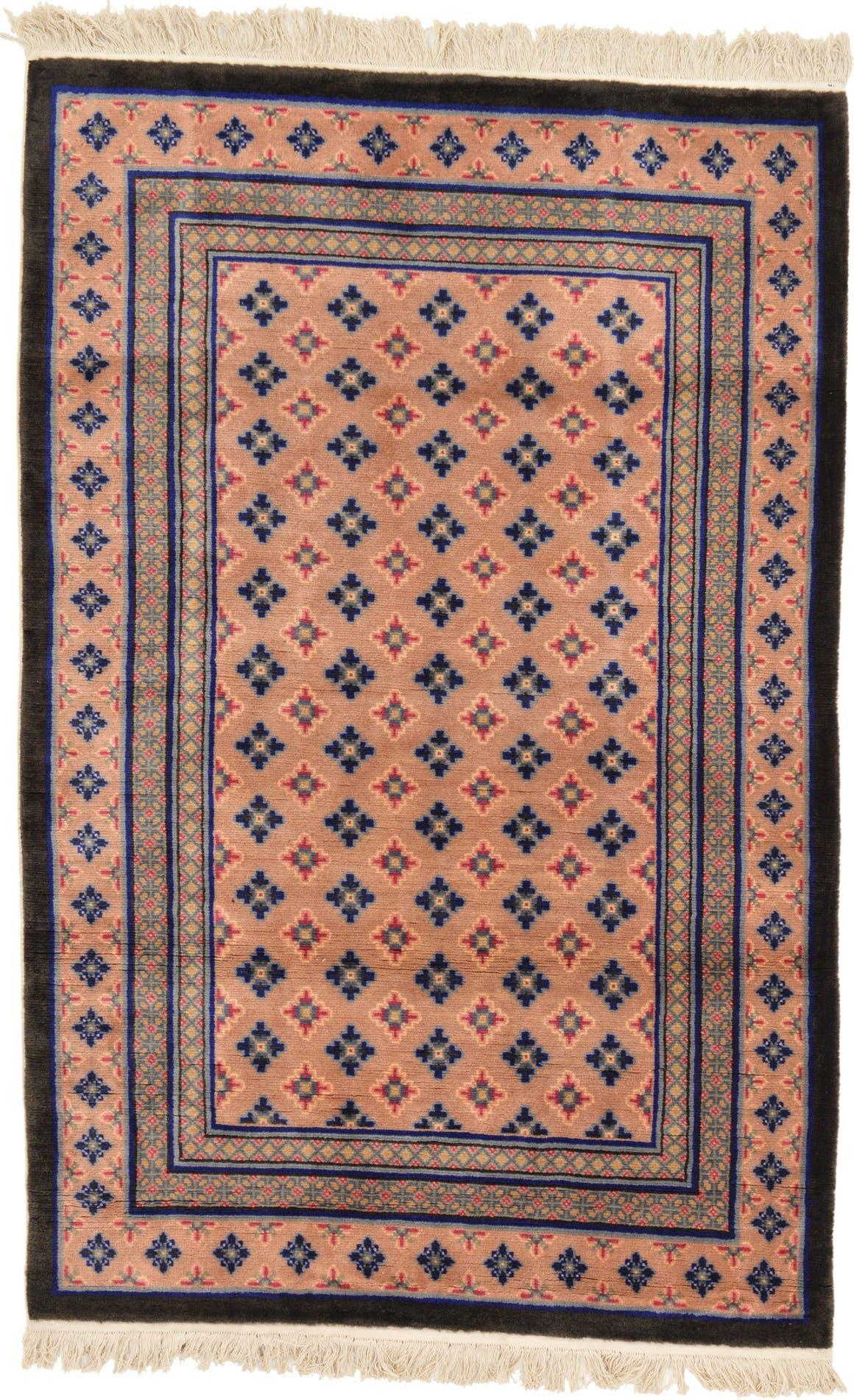 Tan 3 11 X 6 Antique Finish Rug