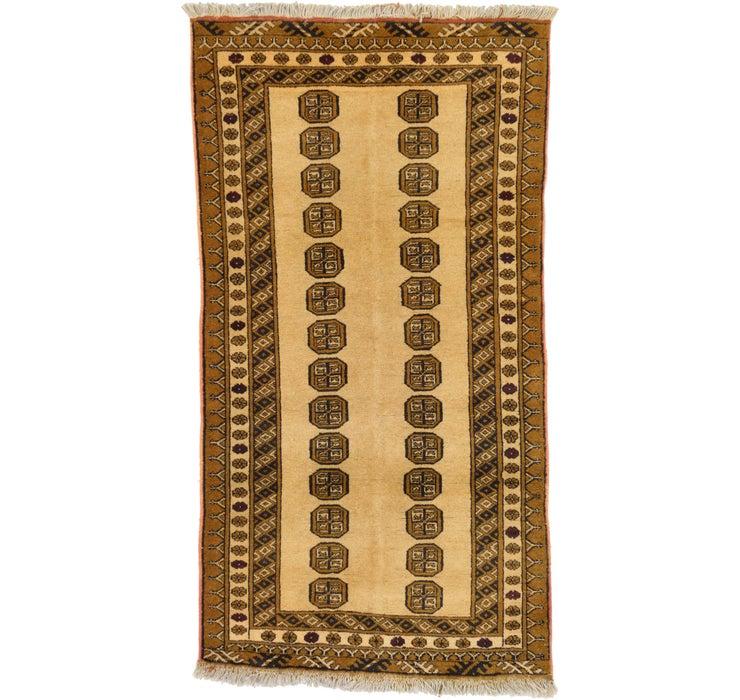 3' 6 x 6' 5 Bokhara Oriental Rug