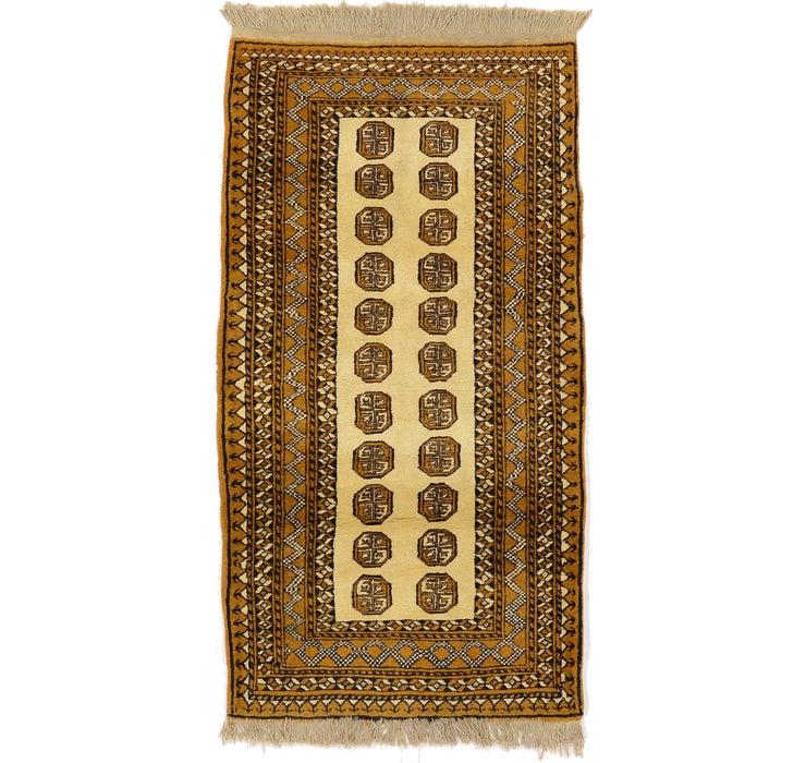 3' 6 x 6' 6 Bokhara Oriental Rug