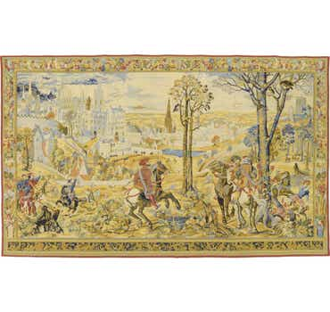 9' 4 x 15' 2 Tapestry Rug