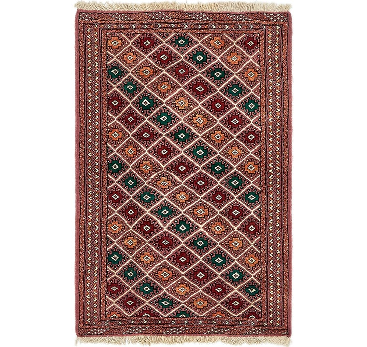 100cm x 147cm Bokhara Oriental Rug