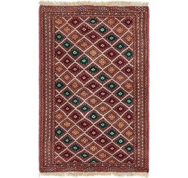 3' 3 x 4' 10 Bokhara Oriental Rug main image