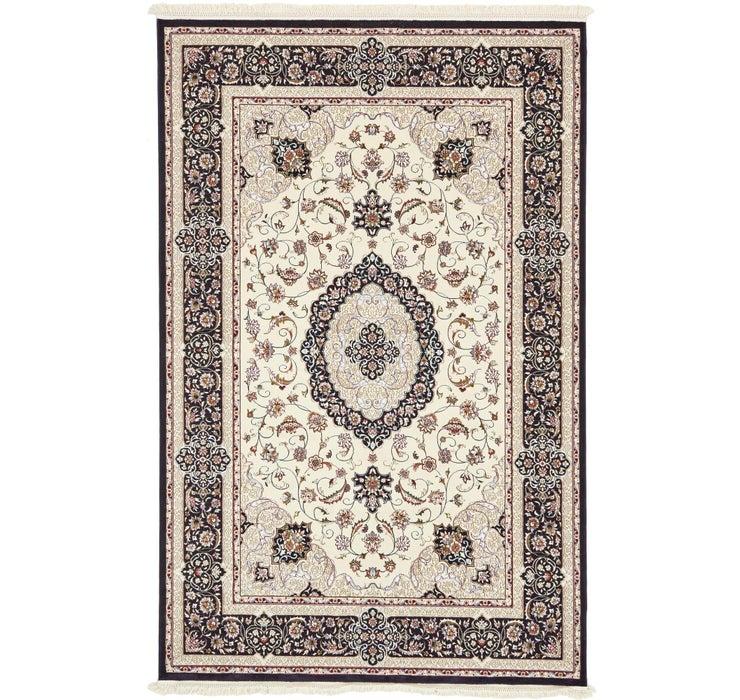 6' 4 x 10' Tabriz Design Rug
