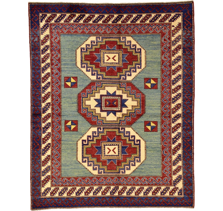5' 10 x 7' 3 Kazak Oriental Rug