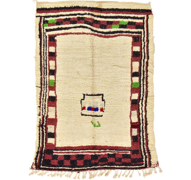 127cm x 173cm Moroccan Rug