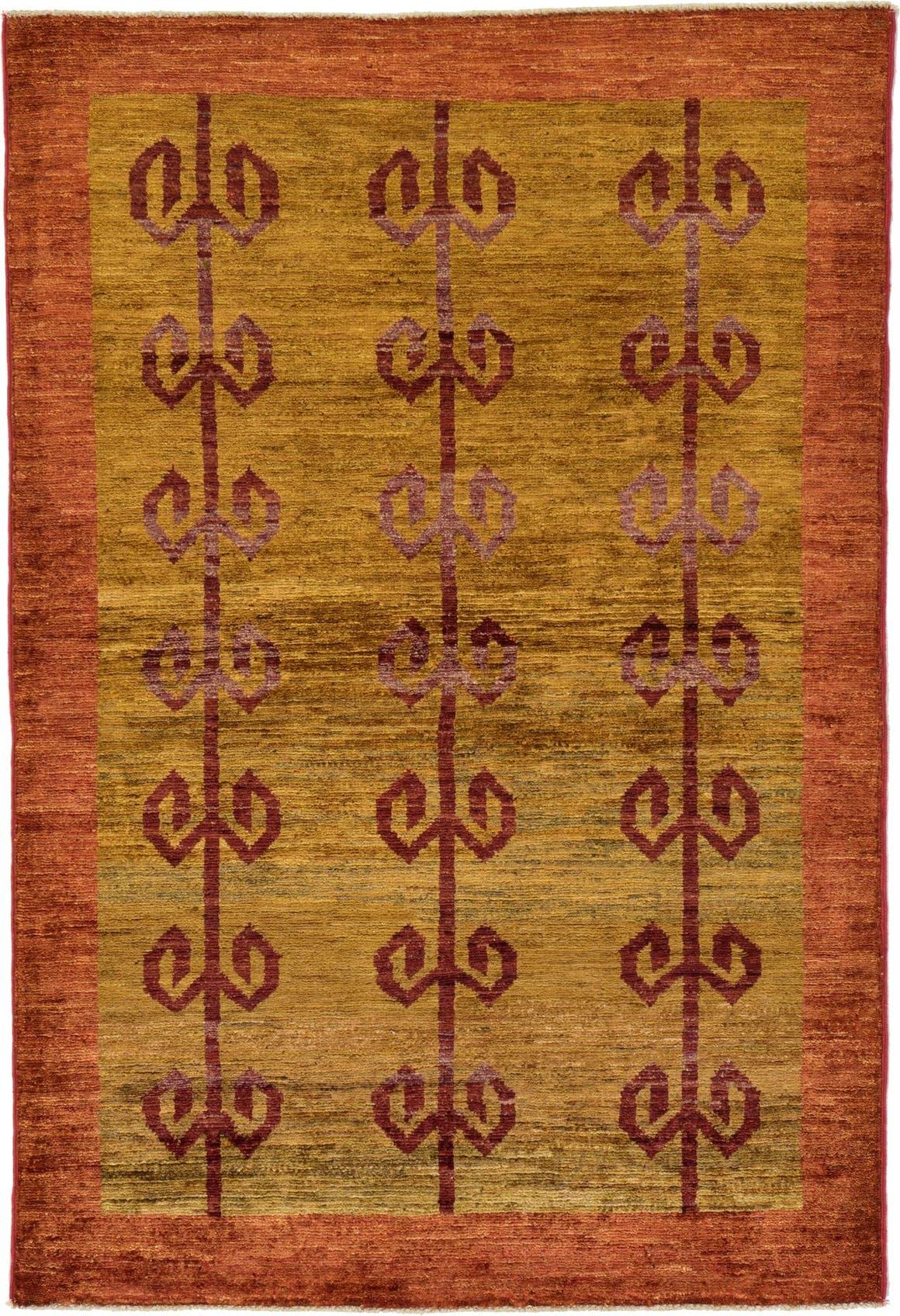 3' 4 x 4' 10 Modern Ziegler Oriental Rug main image
