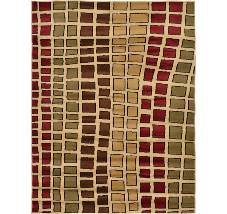 160cm x 218cm Reproduction Gabbeh Rug