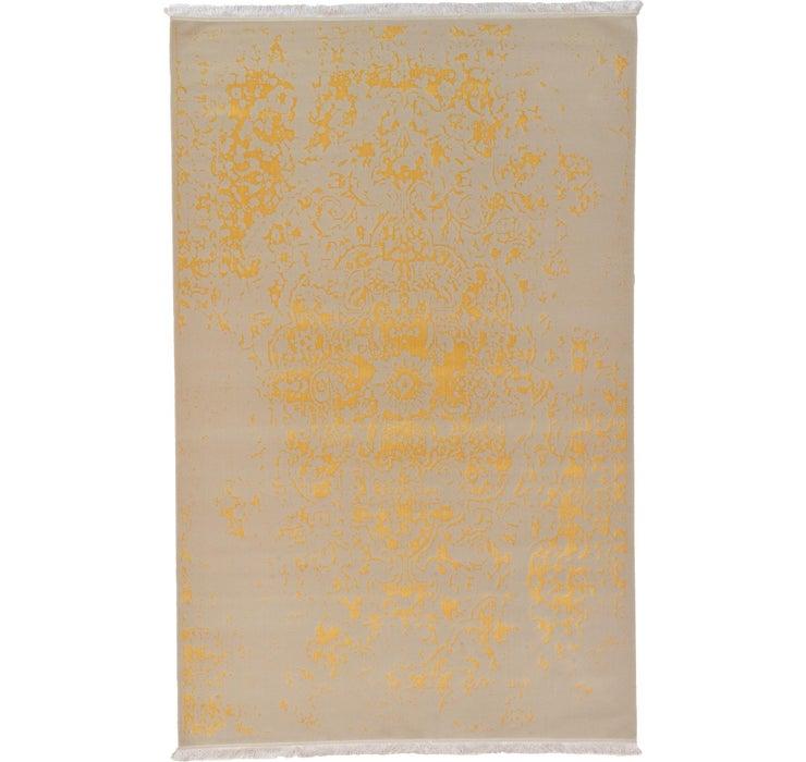 6' 5 x 10' Tabriz Design Rug