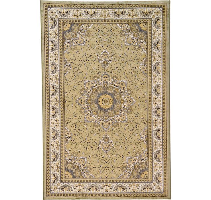 6' 3 x 9' 7 Tabriz Design Rug