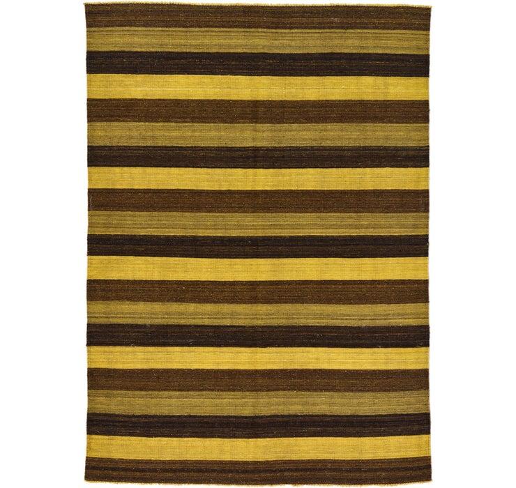 5' 1 x 7' Kilim Afghan Rug